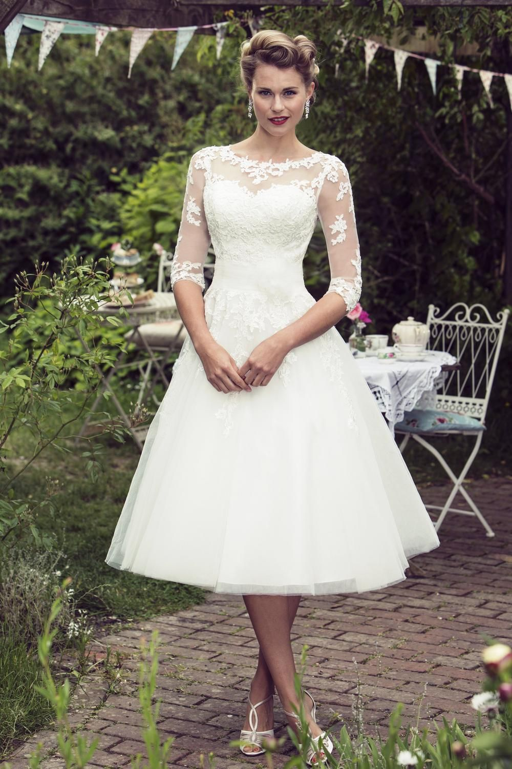 2018 Wedding Dresses Fifties Style - Dresses for Wedding Party Check ...
