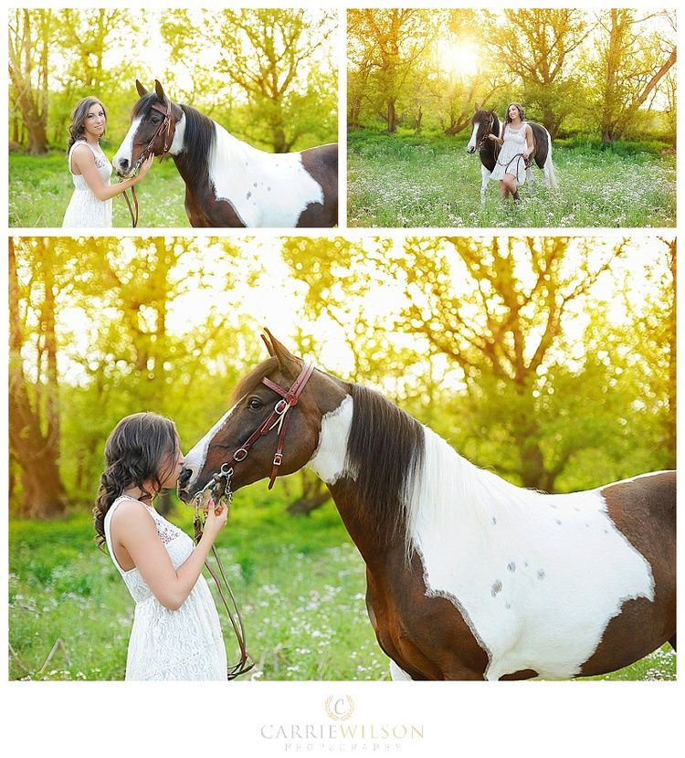 Senior Photography inspiration horses www.carriewilsonphotography.com