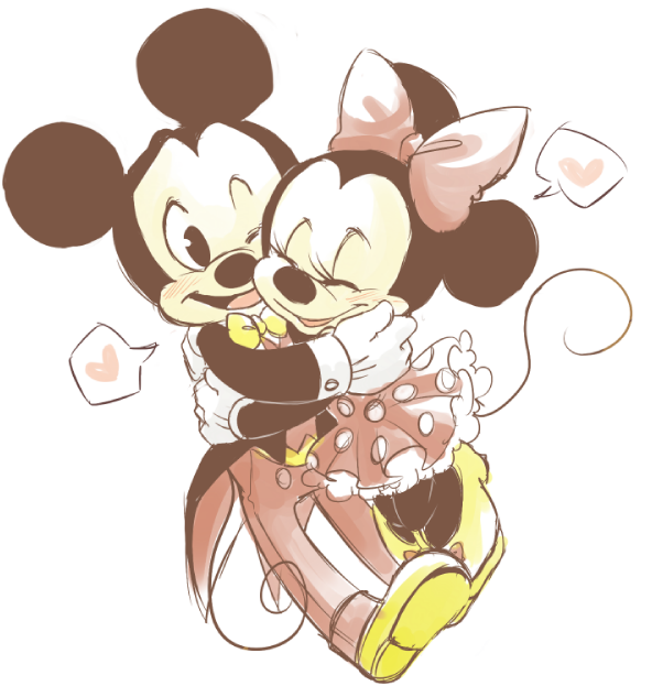 Mickey Mouse And Minnie Drawings Tumblr