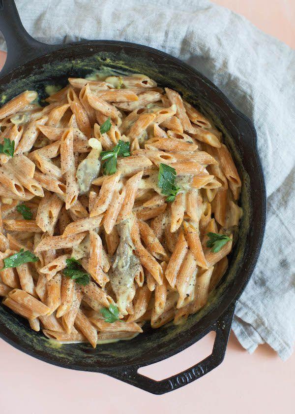 Oyster Mushroom Red Lentil Alfredo Recipe Lentil Pasta Stuffed Mushrooms Oyster Mushroom Recipe