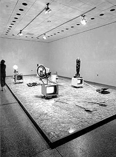 Wolf Vostell Electronic De Coll Age Happening Room 1968