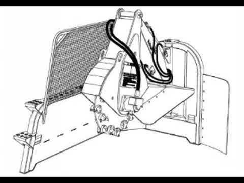 Bobcat SGX60 Stump Grinder Workshop Service Repair Owner's