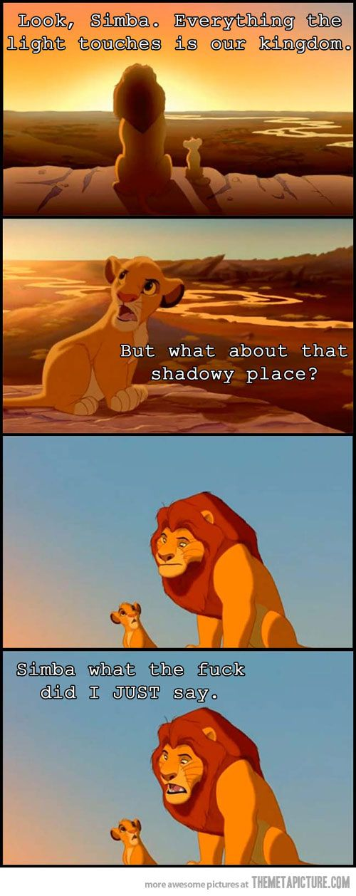 Look, Simba…
