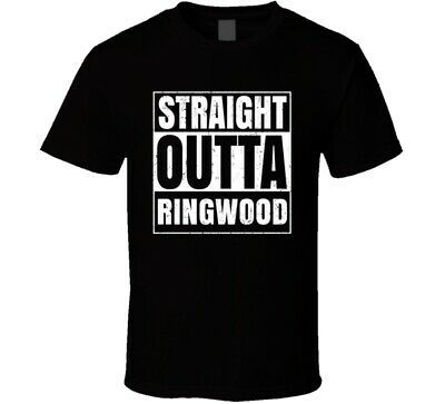 Straight Outta Ringwood Illinois City Compton Parody Grunge T Shirt #fashion #clothing #shoes #accessories #men #mensclothing (ebay link)