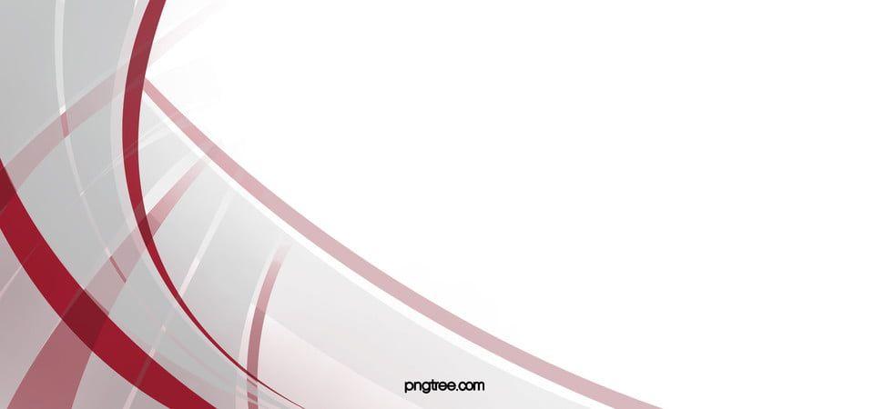Red Lines Ilustrasi Garis Spanduk Latar Belakang