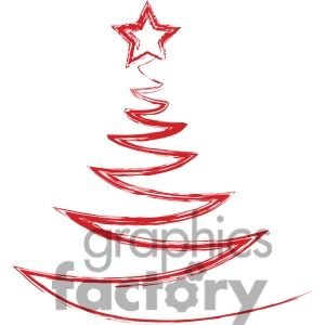 Christmas Tree Logo Design 383698 Vector Clip Art Image Tree Logo Design Christmas Tree Logo Christmas Tree Decorating Themes