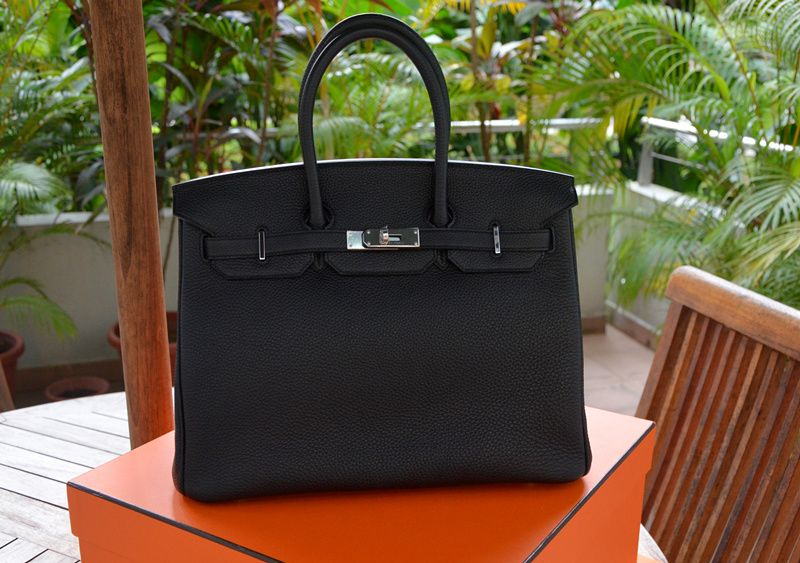645bca114d SOLD   AUTHENTIC   BRAND NEW  Hermes Birkin 35 Black TOGO PHW   O ...