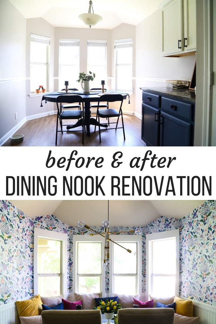 Our Small Dining Room Renovation Ideas For How To Make A Big Impact Small Living Dining Dining Room Renovation Dining Room Small