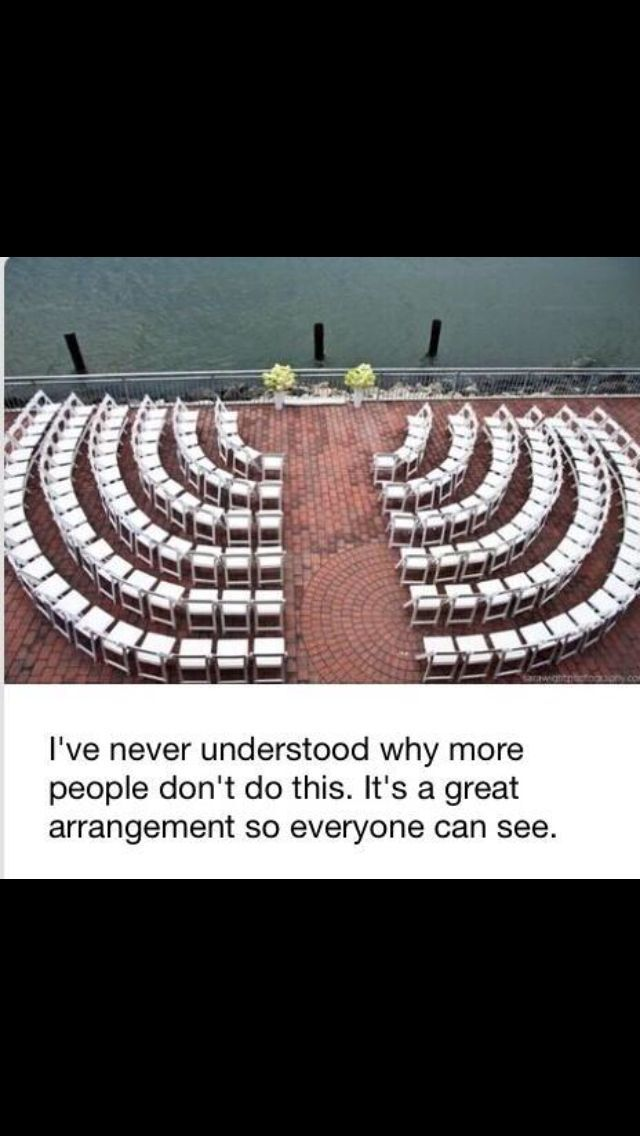 """34 Things That Will Make You Say """"I Wish I Did That At My Wedding!"""" #weddingplanning"""