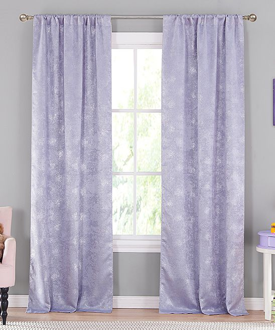 Lavender Clarice Blackout Curtain Panel Set Of Two Panel
