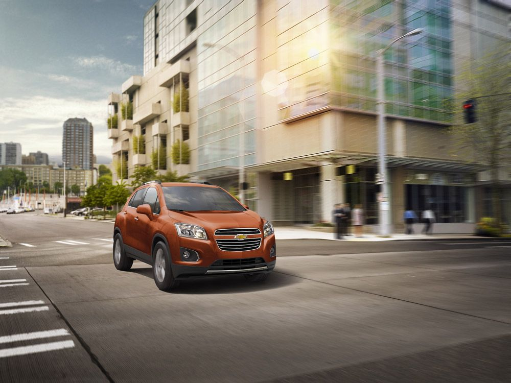 2015 Chevy Trax Earns Top Safety Rating from NHTSA