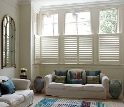 Cafe Shutters Are Wonderful For Maintaining Your View And Giving You  Privacy.