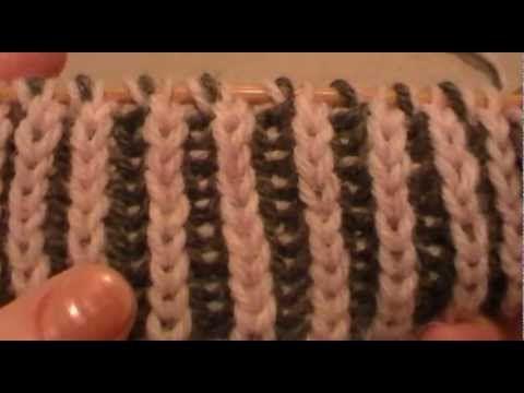 Double Brioche Stitch Shown By Larisa Chilton And Larisa Also Shows