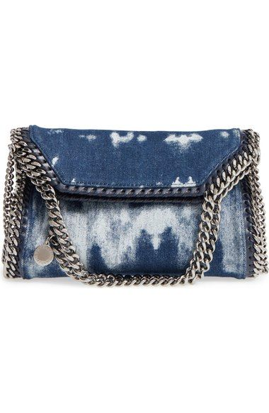 5f187028198 Stella McCartney  Mini Falabella  Denim Crossbody Bag   KABELKY ...