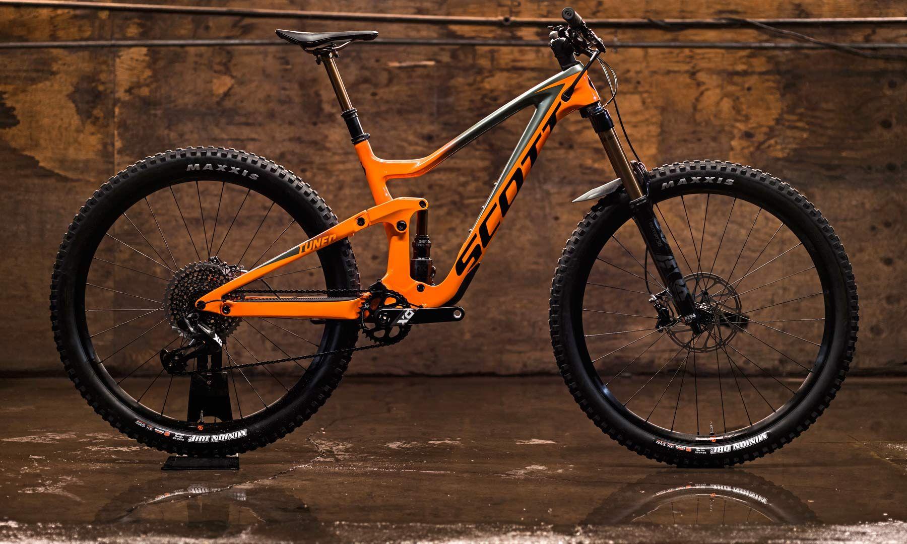 2019 Scott Ransom Complete Enduro Bike Build Options Pricing