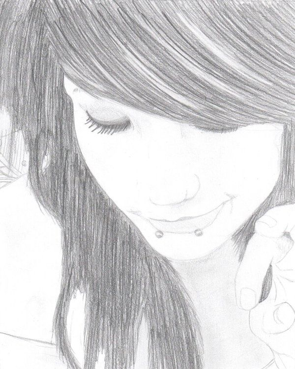 i love the drawing but ill probably not make it emo i might even