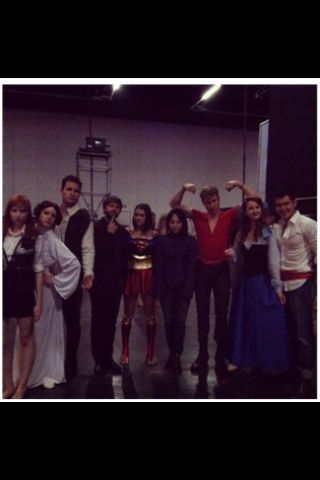 Lizzie Bennet Cast gone Cosplaying