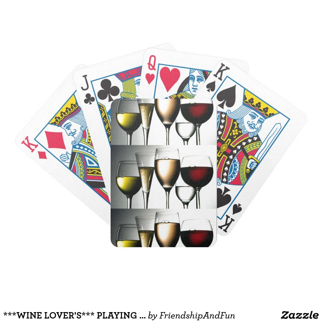 wine lovers playing cards what a great gift