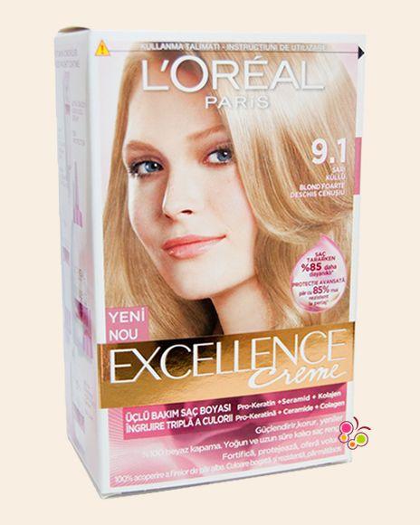 Loreal Paris Excellence Creme Sac Boyasi 9 1 Sari Kullu Sac