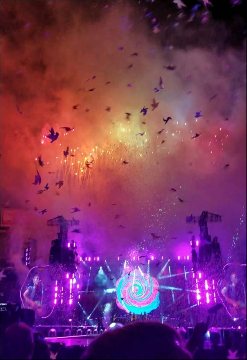 I Went Through Sweat And Tears To Be Here I Waited A Year For This Wonderful Moment Tour Image The Coldplay Timeli Coldplay Songs Coldplay In This Moment