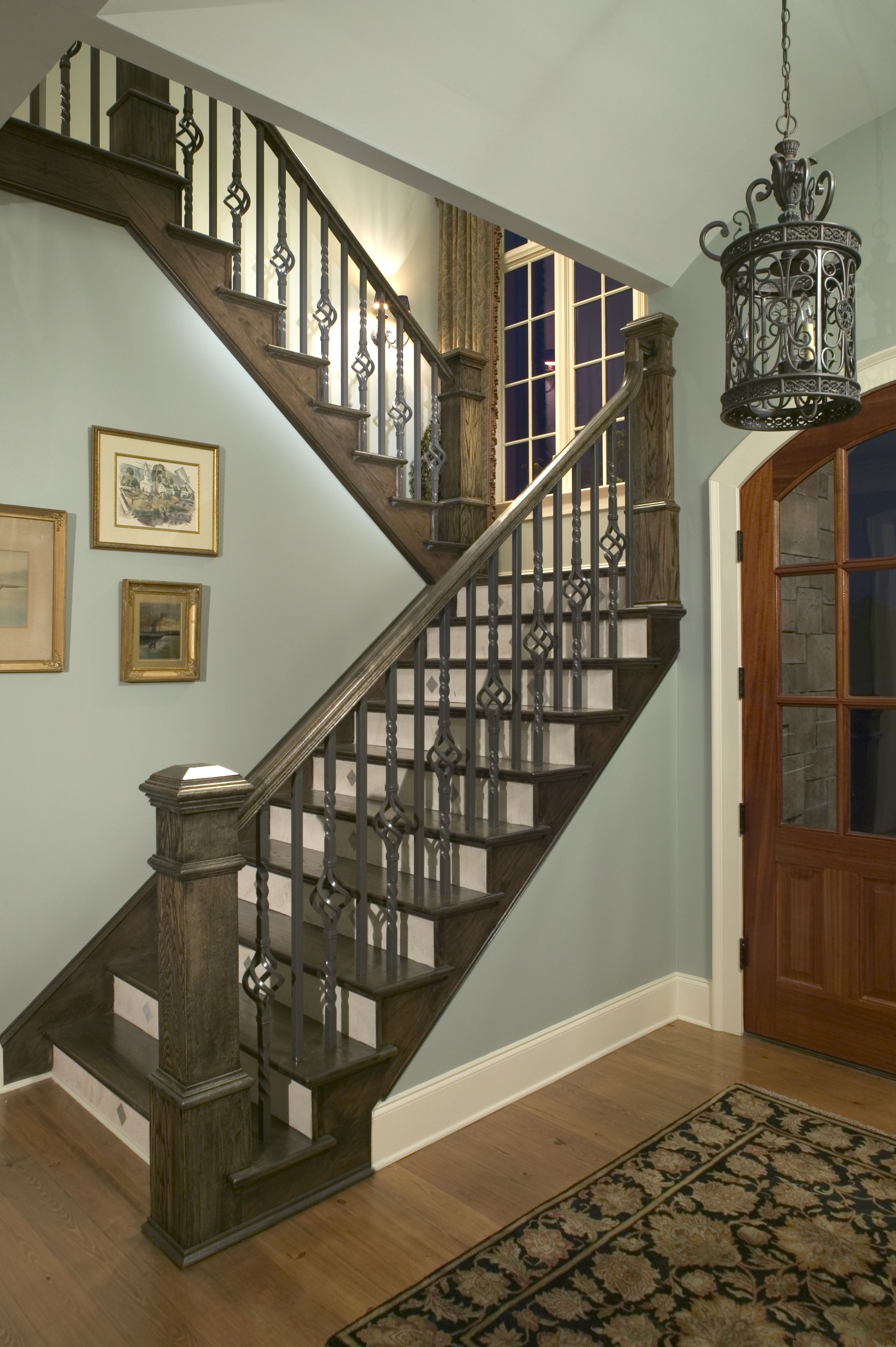 2020 Home Remodeling Costs Average Price To Remodel A House   Cost Of New Banister And Spindles   Chris Loves Julia   Stair Parts   Stair Treads   Paint   Iron Stair