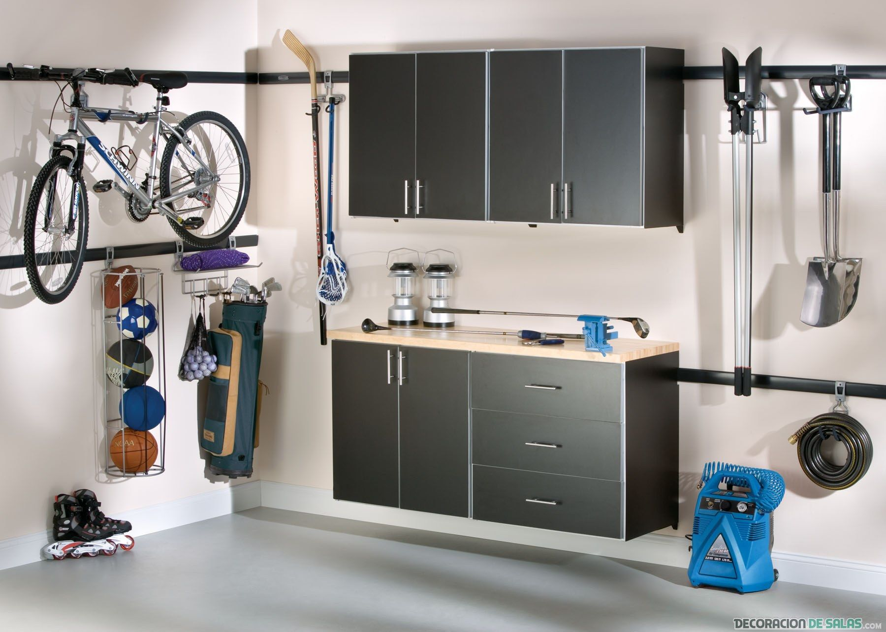 Garage organization tips new home designs the best garage - Find This Pin And More On Garaje Organizing Garage Cabinet Plans