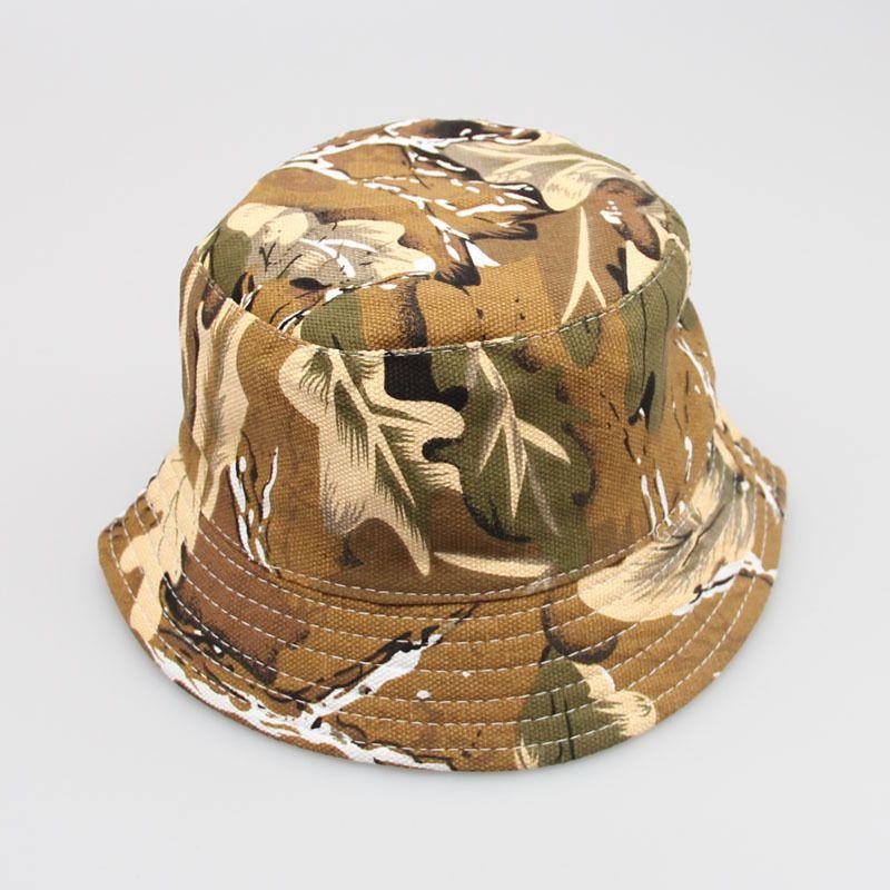 edbd70b47c4 HotSelling bucket hats Fashion Cap Hunting Fishing hats Sun Block Bob  Camping Bucket Hat Cap Sun hat freeshipping