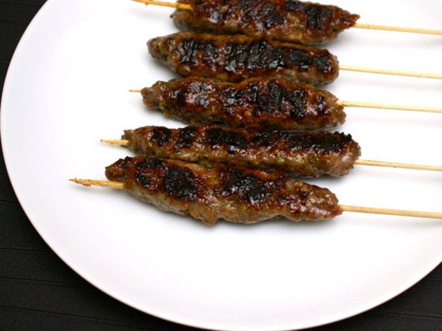 Lamb Kefta with Dates and Sage