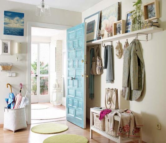 Ideas para decorar entradas y recibidores hogar entryway foyer y doors Perchero entrada recibidor