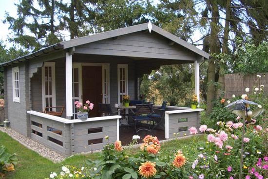 Gartenhaus LapplandB ISO Jardin moderne, Abri de jardin