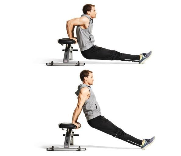 triceps exercise 1 weighted bench dip workout brazos