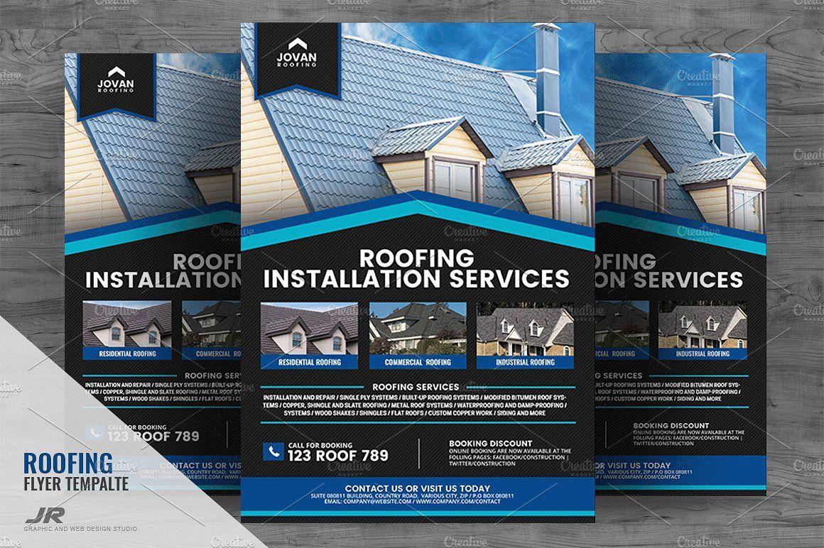 Roofing Services Flyer Roofing Flyer Roofing Services