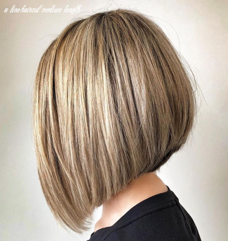 47++ Medium length a line haircut trends