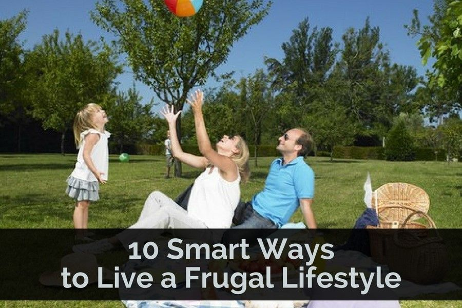 By living a frugal lifestyle you will be able to increase your savings. Then your savings can be used for important items, such as a down payment on a house