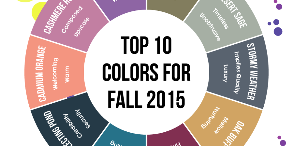 these are the colors you re going to see everywhere this fall fall