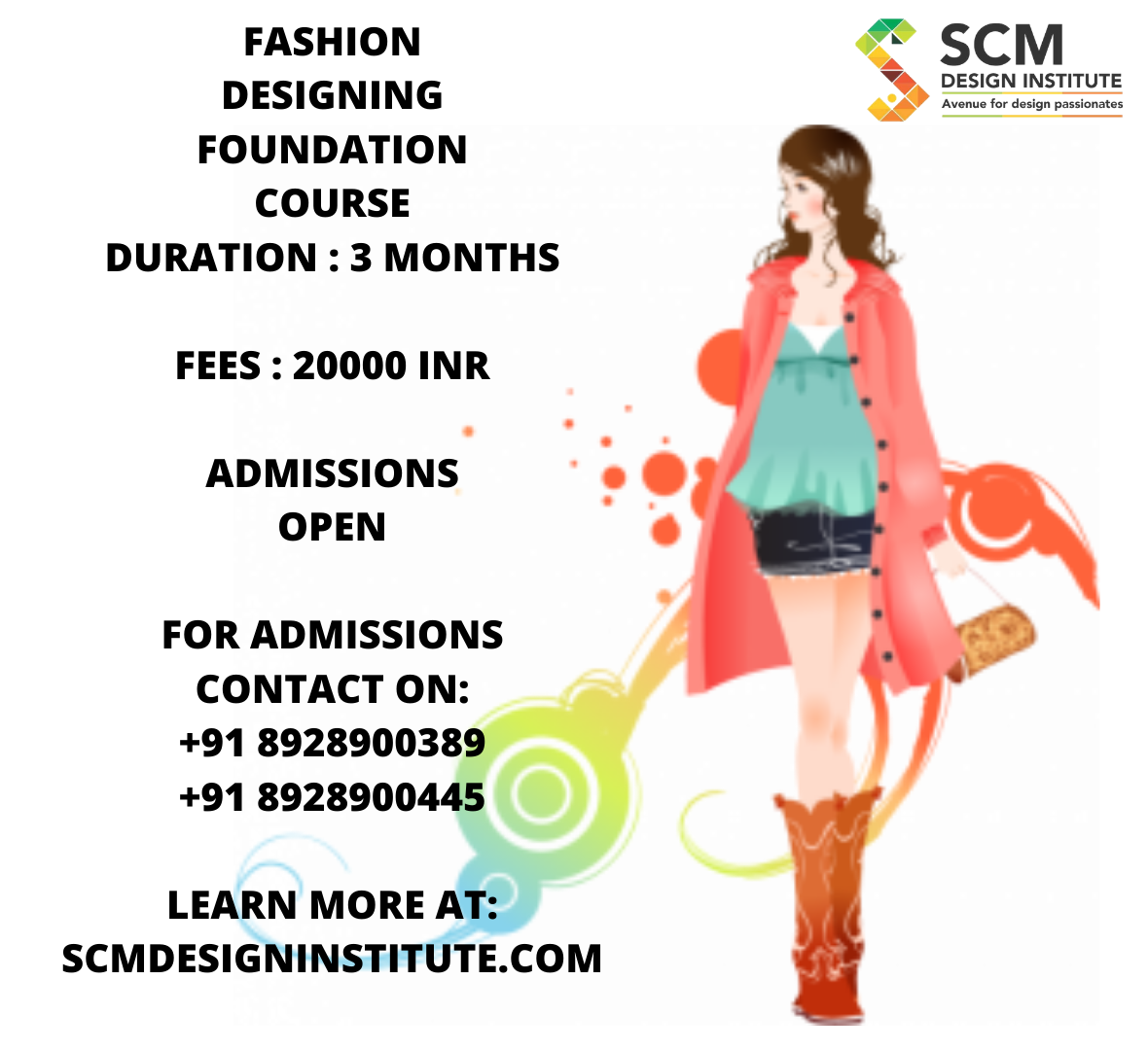 Fashion Designing Foundation Course Duration 3 Months Fees 20000 Inr Admissions Open For Admissions Contac In 2020 Insta Fashion Fashion Photography Fashion Design