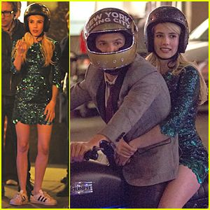 Emma Roberts Has the 'Nerve' to Take Motorcycle Ride :http://celebritiesreport.com/2015/04/17/emma-roberts-has-the-nerve-to-take-motorcycle-ride/