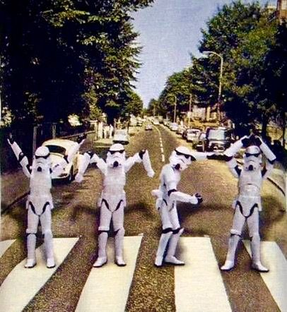 The Beatles, Abbey Road: Stormtroopers YMCA, Star Wars ...
