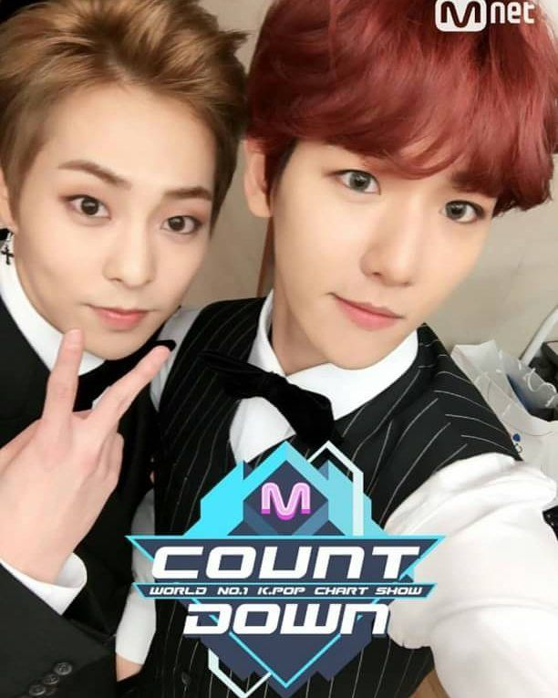 161103 Mcountdown Twitter Update - BaekXi Omg Baekhyun look so so so beautiful . . . {@real__pcy  @baekhyunee_exo} {#ChanBaekID #Chanyeol #Baekhyun #Chanbaek #찬열 #백현 #찬벡 #찬백인도네시아 #Admin_Ret} -Ret { @retnopngst}