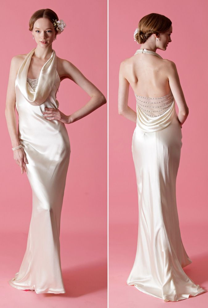 20 Gorgeous \'Gatsby\'-Inspired Wedding Gowns | Boda