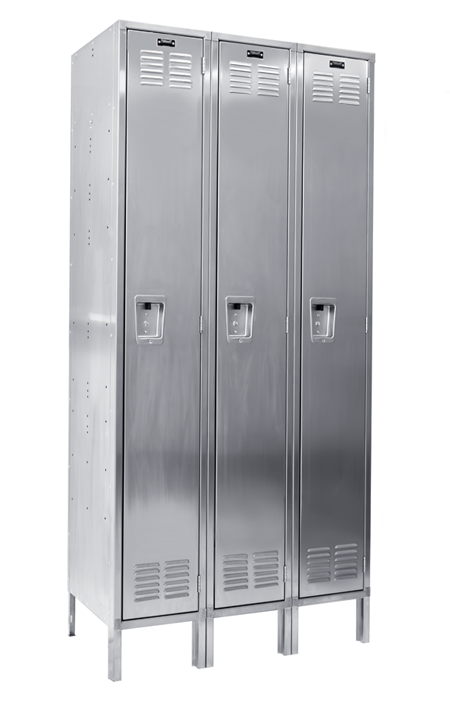 Stainless Steel Lockers   Hallowell Stock QUICKSHIP Products