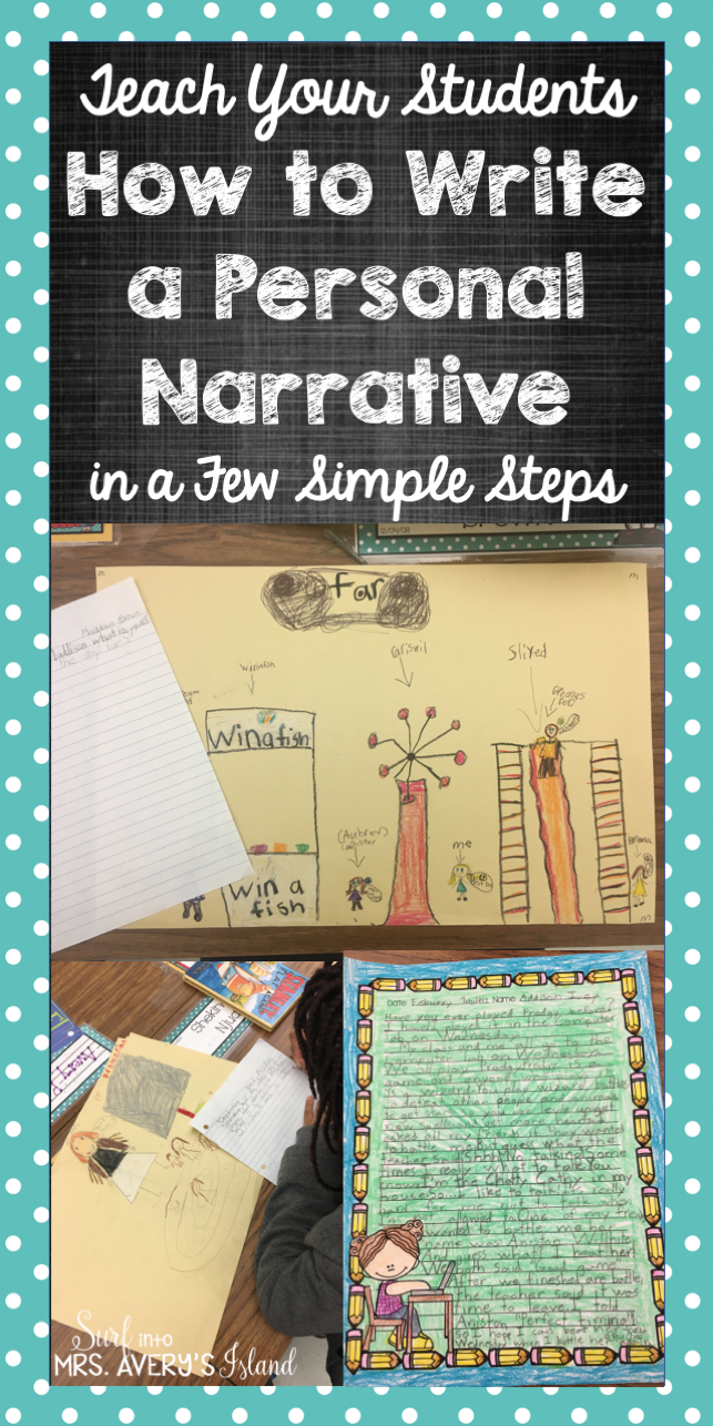 How to Teach Your Students to Write a Personal Narrative in Just a ...