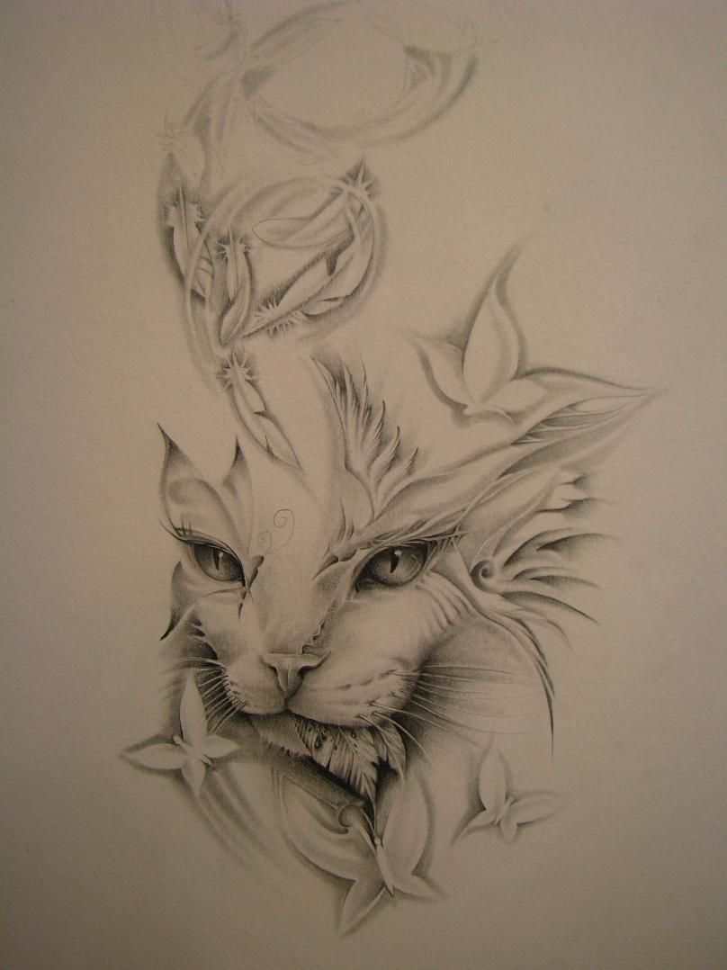 Cat Tattoo Cat Tattoo Cat Tattoo Designs Cat Tattoo Small