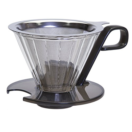 Primula Seneca 1cup Pour Over Coffee Maker Temperature Safe Glass Cone And Doubled Lined Stainless Stee Pour Over Coffee Maker Glass Coffee Maker Coffee Maker