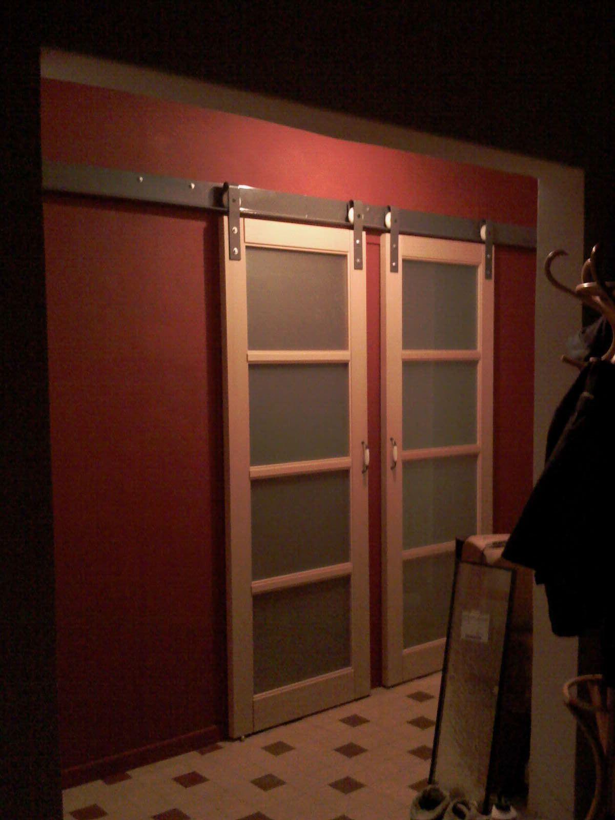 Fabriquer Des Portes Coulissantes Idées Pour La Maison Pinterest - Porte placard coulissante avec serrurier clichy