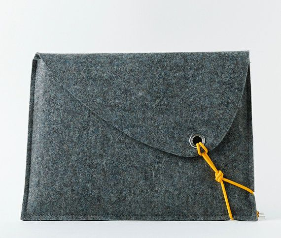 Items similar to sCosy  iPad bag - an elegant and functional bag, as nice to touch as it is stylish to look at. on Etsy