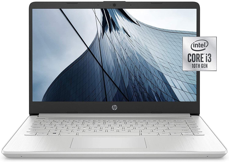 Hp 14 Inch Hd Laptop 10th Gen Intel Core I3 1005g1 4 Gb Ram 128 Gb Ssd Windows 10 Home In S Mode In 2020 Best Laptops Laptop Ssd