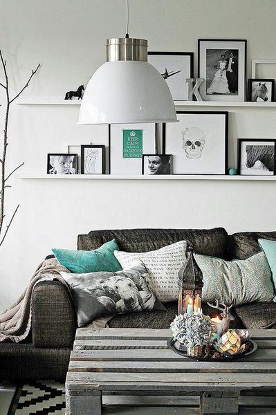 Petit salon moderne  16 photos déco Idées pour la maison