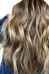 45 Best Balayage Frisuren für glattes Haar für 2019 - #balayage #frisuren #glattes - #frisuren