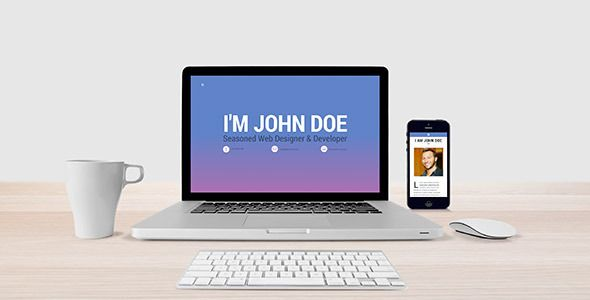 MongKok - Modern Onepage Resume   Personal Theme  MongKok has - wordpress resume theme